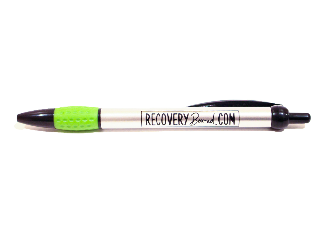 The Recovery Box pen