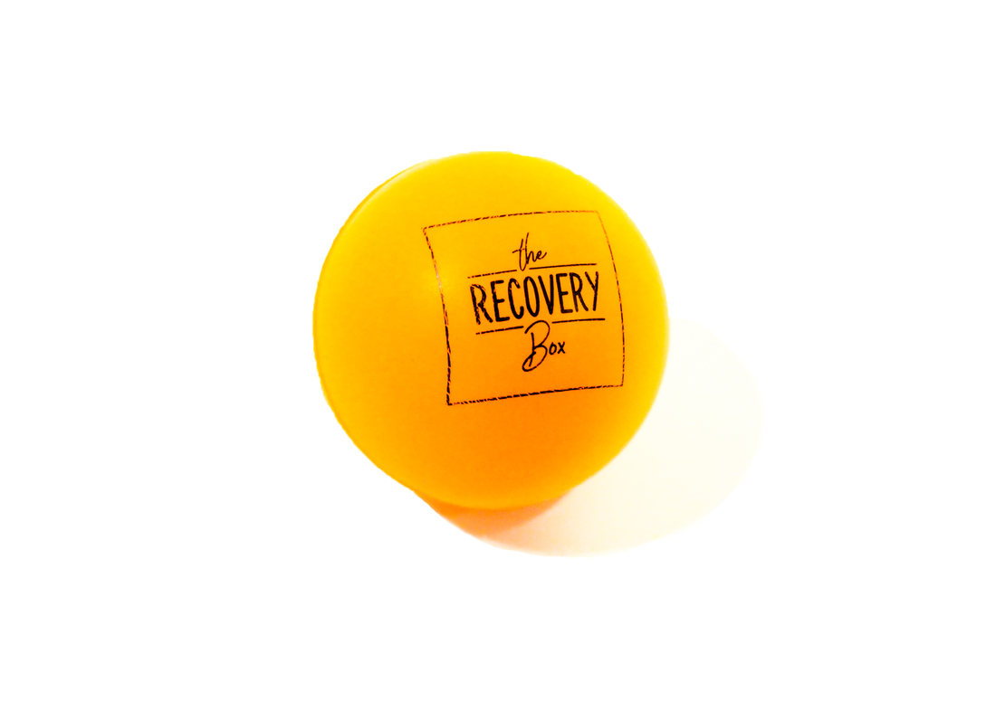 The Recovery Box stress ball